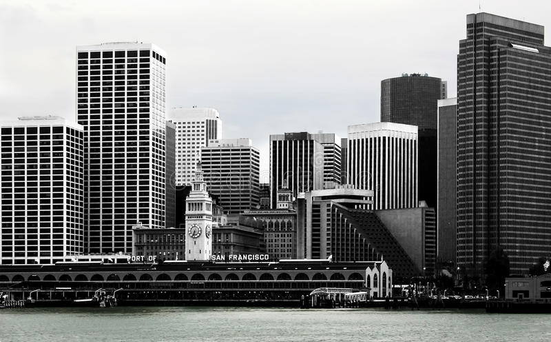 Download Skyline San Francisco stock image. Image of recreation - 14191577