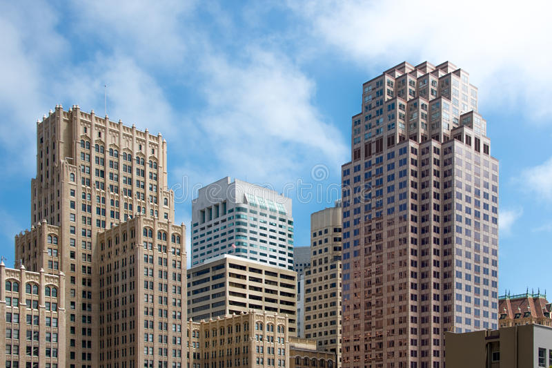 Skyline - San Francisco Financial District stockfotografie