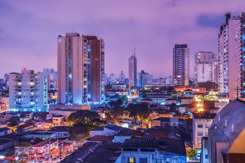 Skyline Of Sao Paulo, Brazil At Sunset Free Public Domain Cc0 Image