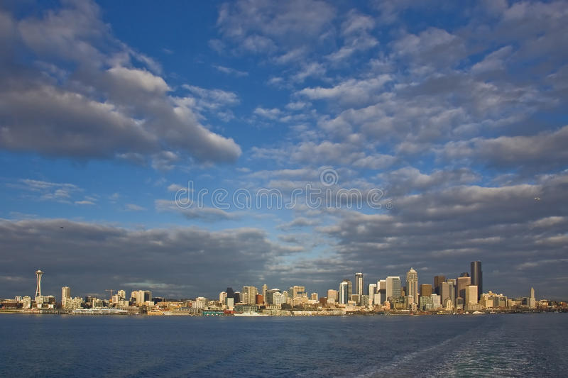 Skyline Seattle-Washington stockfotografie