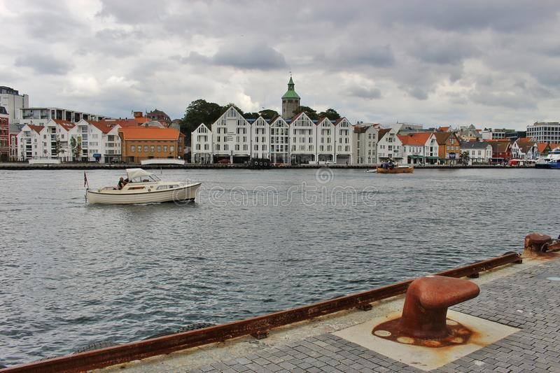 Skyline of Stavanger, Norway. stock images