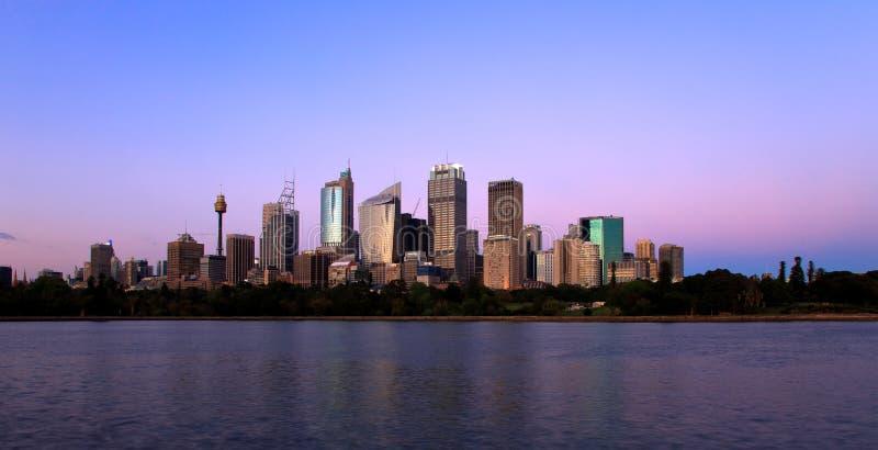 Skyline Sydney Editorial Stock Photo