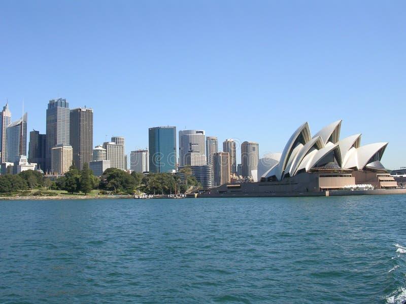 Skyline Sydney-, Australien und lizenzfreies stockfoto