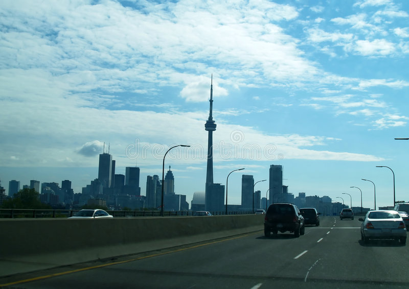 The Skyline of Toronto royalty free stock images