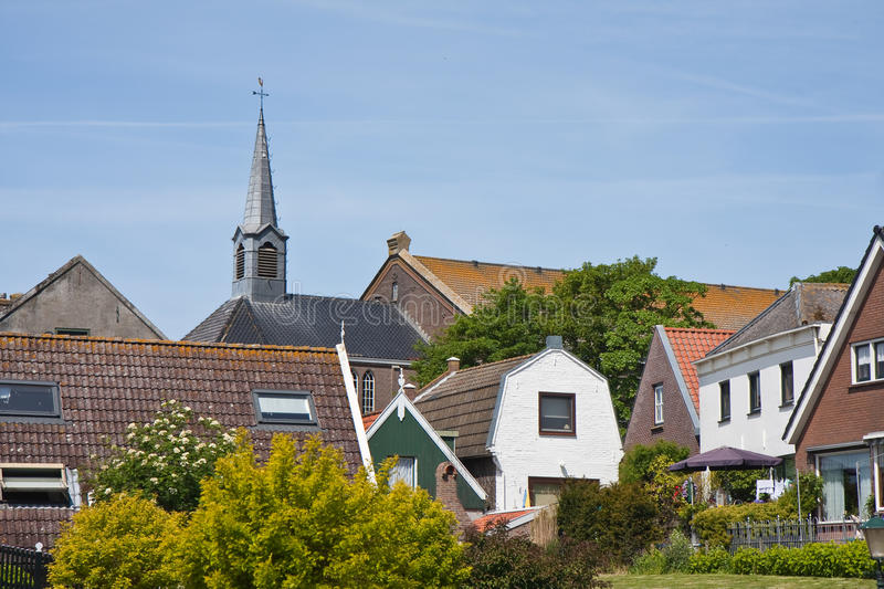 Download Skyline Of Urk, An Old Dutch Fishing Village Stock Photo - Image: 14604268