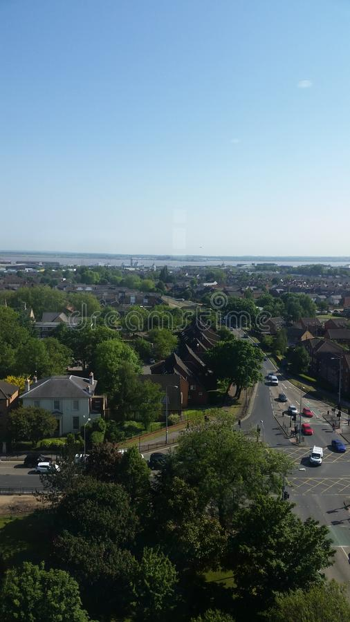 Skyline View of Hull From HRI royalty free stock photography