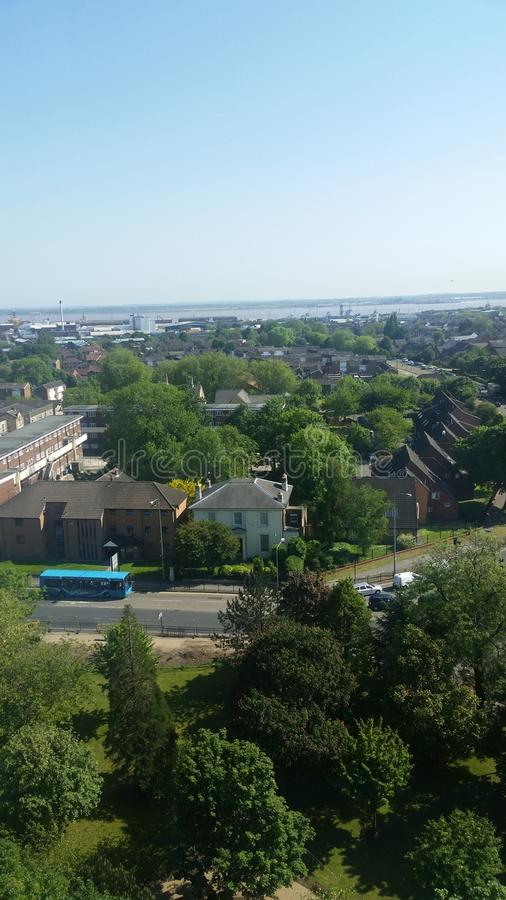 Skyline View of Hull From HRI stock image