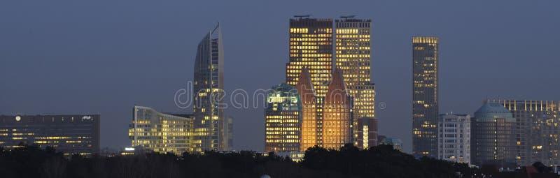 Skyline von Den Haag lizenzfreies stockfoto
