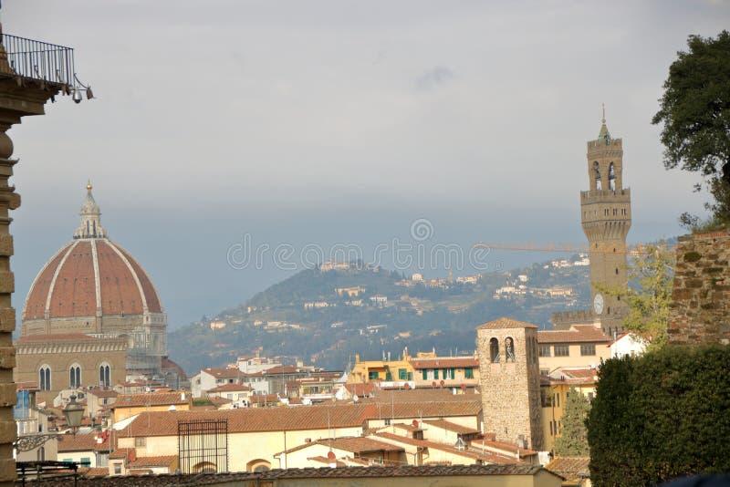 Skyline von Florenz lizenzfreies stockfoto