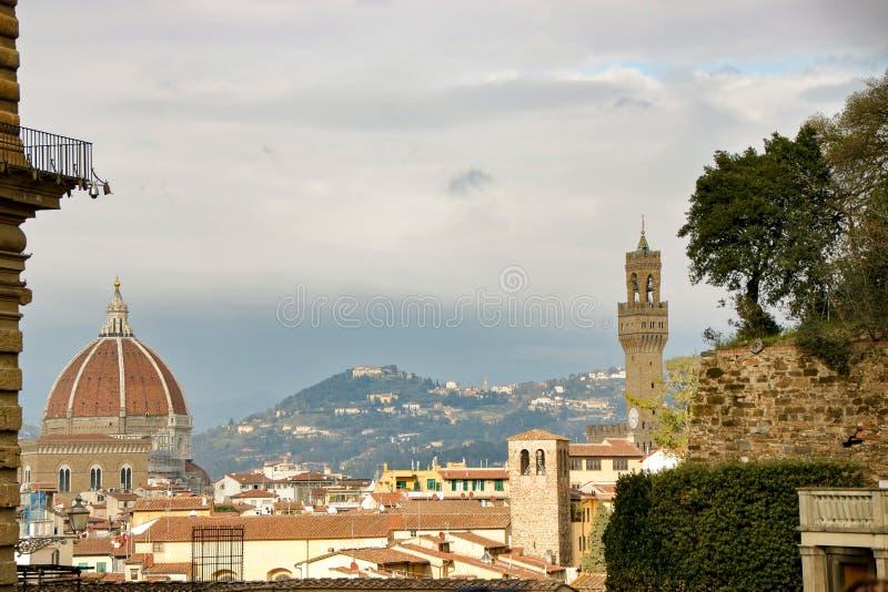 Skyline von Florenz stockbild