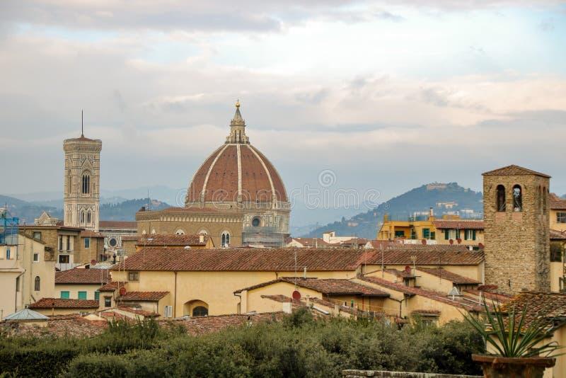 Skyline von Florenz stockfotos