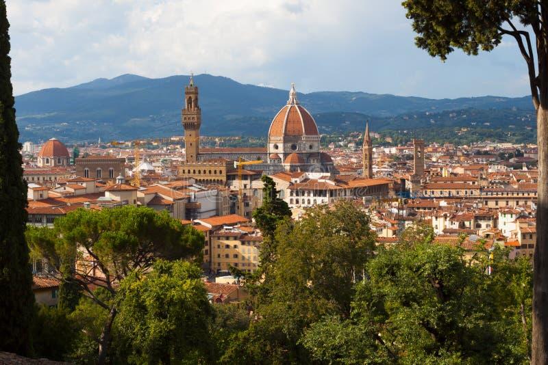 Skyline von Florenz stockbilder