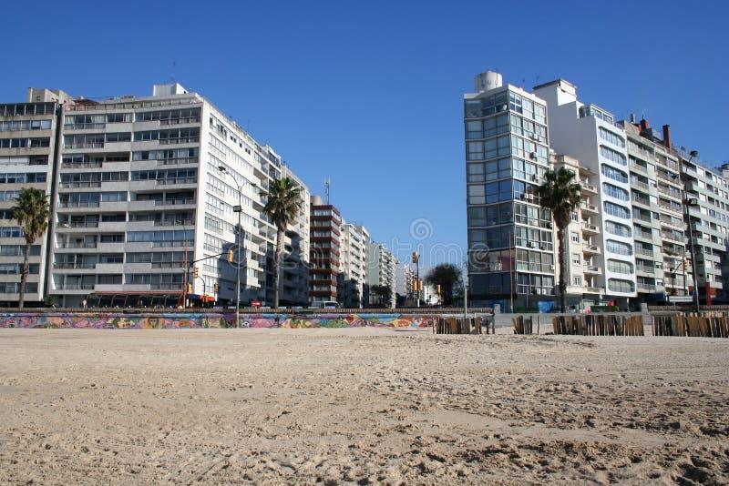 Skyline von Montevideo stockfotografie
