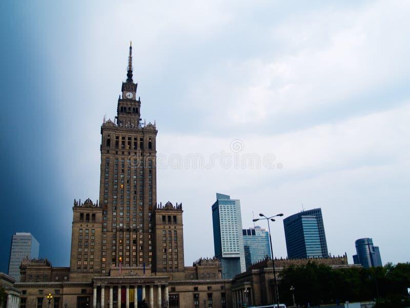 Download Skyline of Warsaw, Poland stock photo. Image of skyline - 20418282