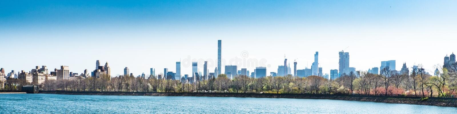 Skyline, Water, City, Daytime royalty free stock photography
