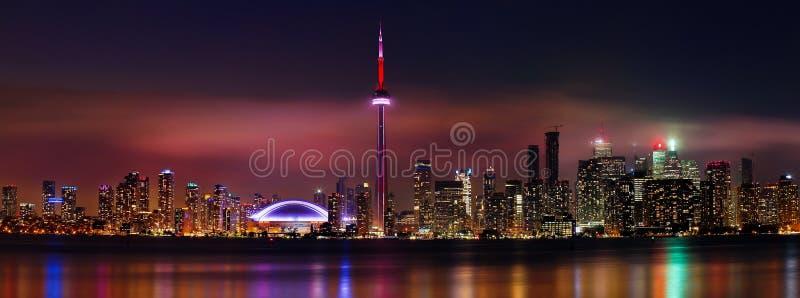 Skylines de Toronto imagens de stock