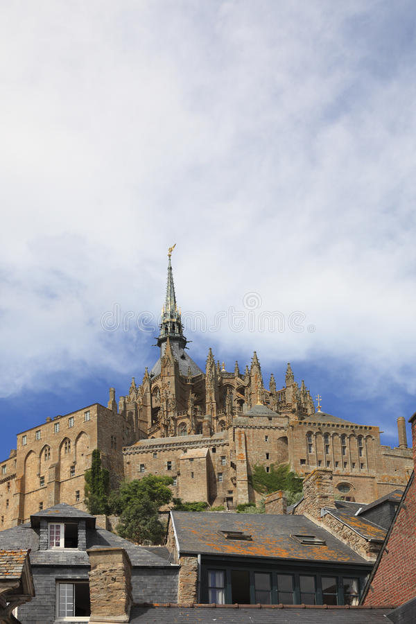 Skylines Do Saint Michel Imagens de Stock Royalty Free