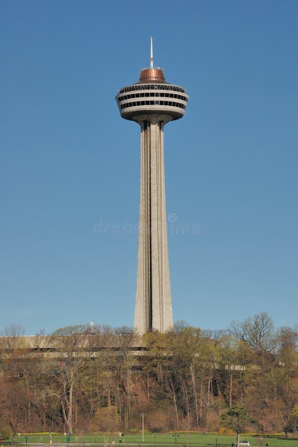 Skylon Kontrollturm Niagara Falls lizenzfreie stockbilder