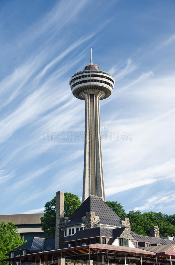 Skylontoren Canada stock fotografie