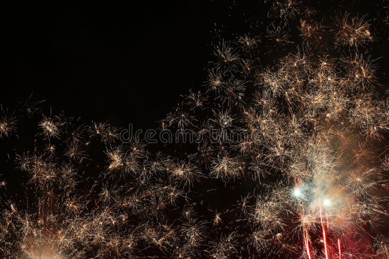 Skyrocket. For a great celebration royalty free stock photography