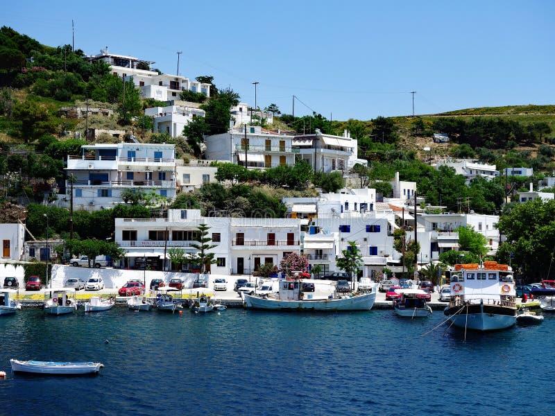 Skyros, paesino di pescatori greco dell'isola fotografie stock