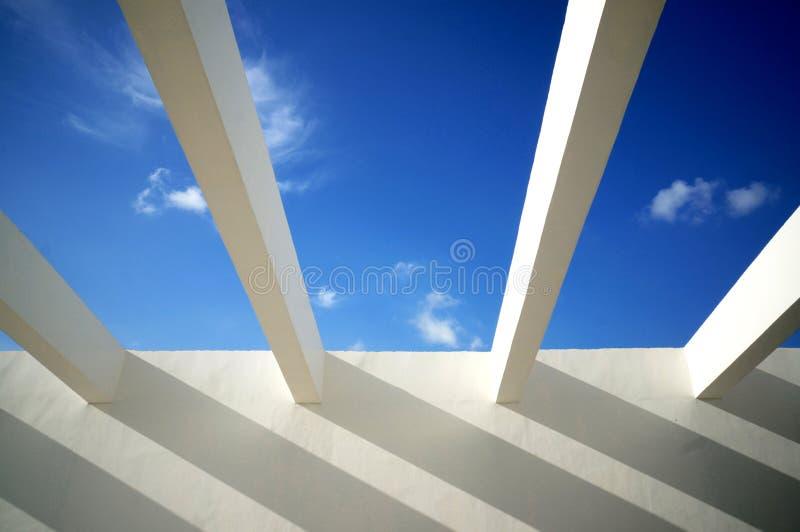Skys di infinito fotografie stock libere da diritti