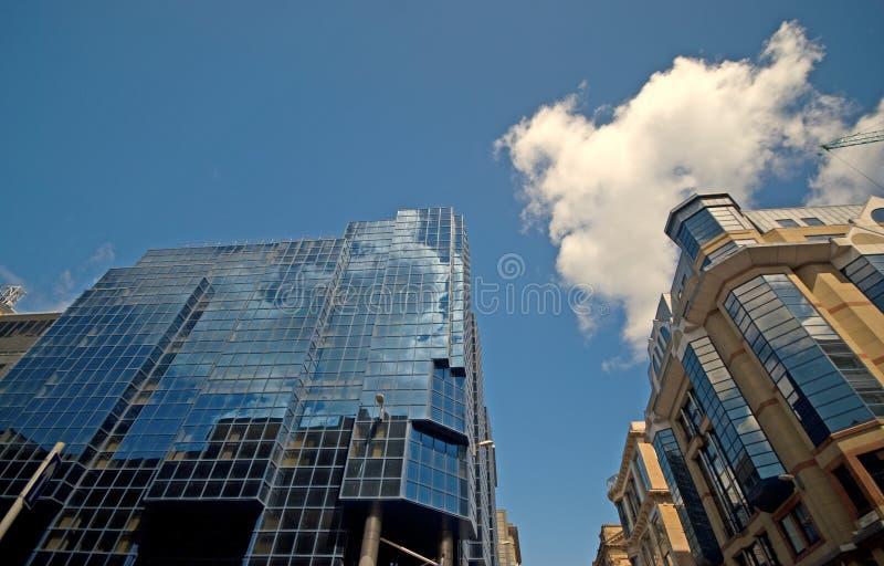 Skyscap di Glasgow fotografia stock libera da diritti