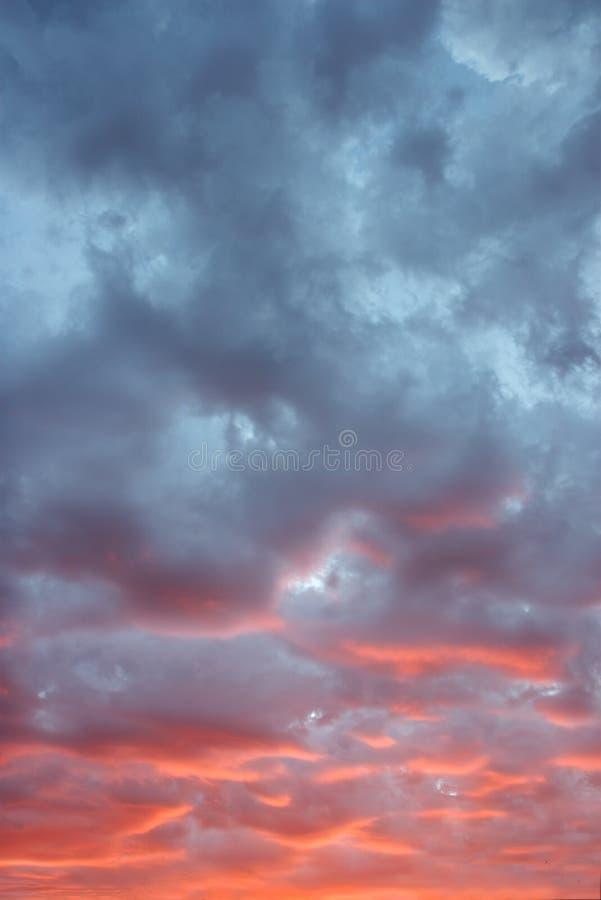 skyscape ηλιοβασίλεμα στοκ εικόνες