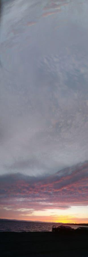 Skyscape Марины стоковое изображение