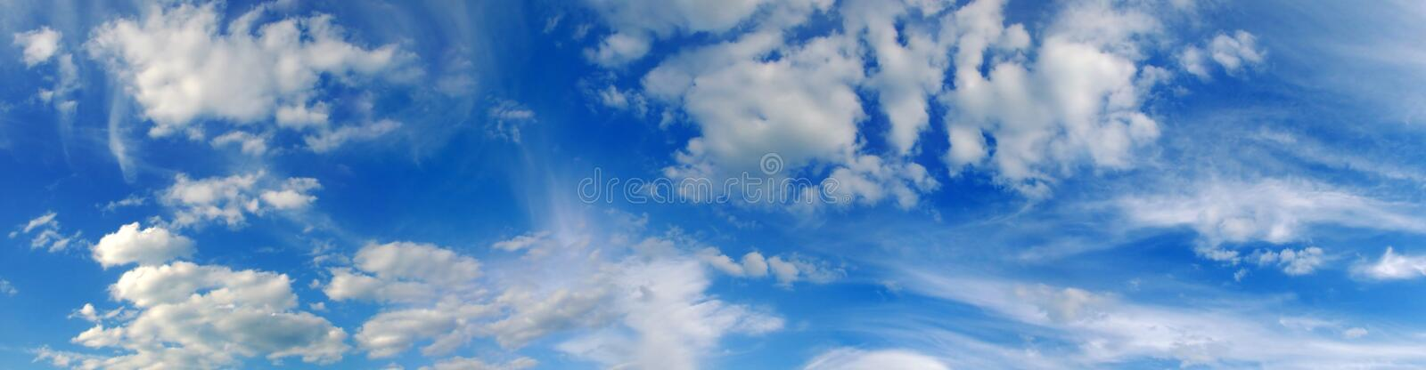 Skyscape stockbild