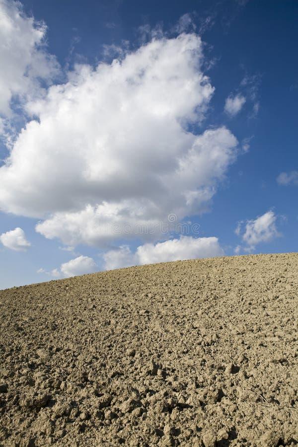 skyscape au sol photographie stock