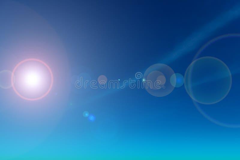 Skyscape, chiaro cielo blu fotografia stock libera da diritti