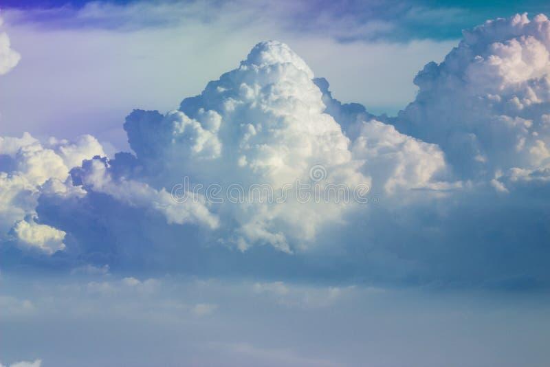 Skyscape con le nuvole fotografia stock libera da diritti
