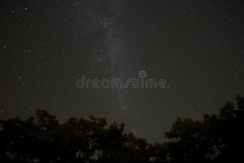 Skyscape Milky Way Stars stock photography
