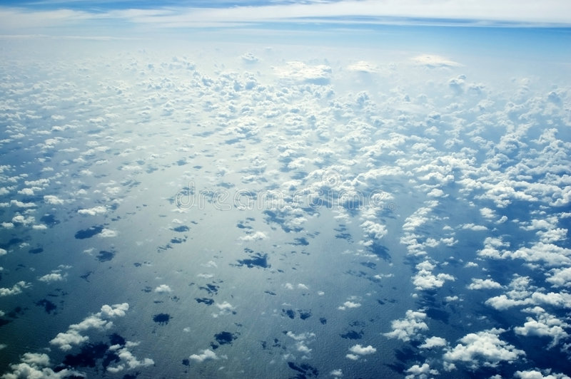 Download Skyscape Over Indian Ocean Stock Image - Image: 7921721