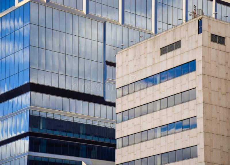 Skyscarpers moderne gebouwen royalty-vrije stock fotografie
