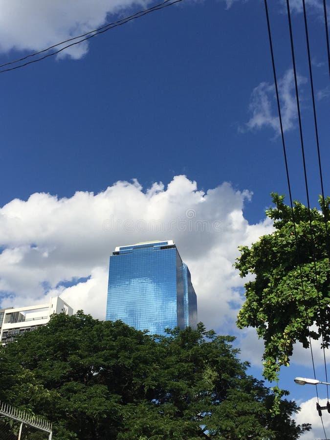 Skyscrape在曼谷 库存图片