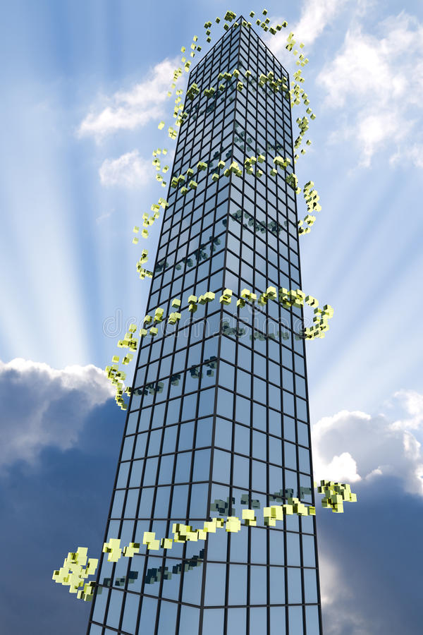 Skyscraper stock illustration