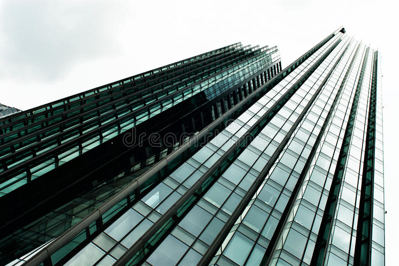 Download Skyscraper. Modern Glass Building In Abstract Stock Photo - Image: 25406976
