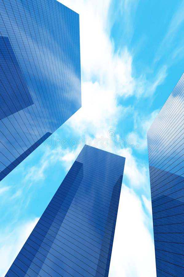 Skyscraper vector illustration