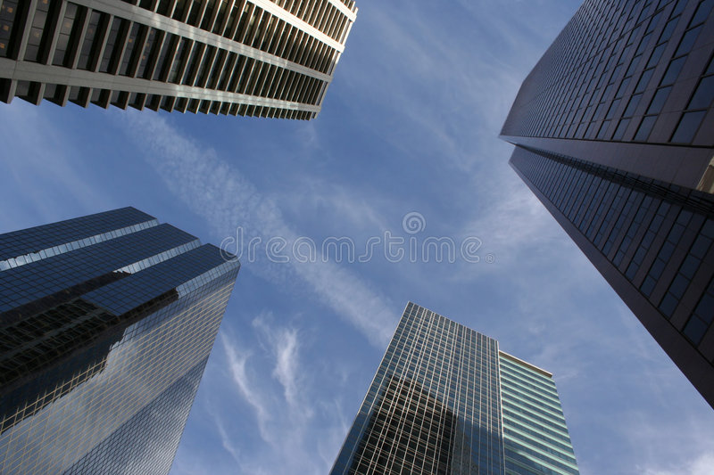 Skyscraper abstract stock image