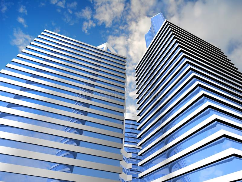 Skyscraper Background Royalty Free Stock Image
