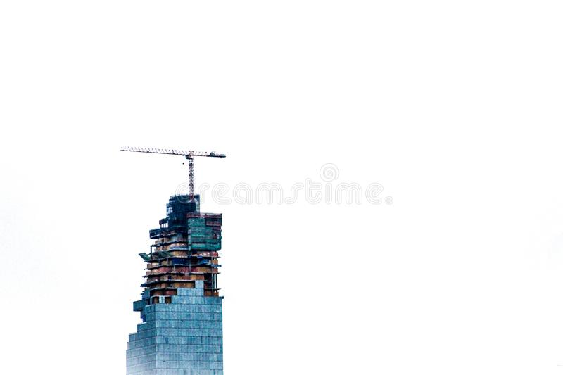 Build it high stock photography