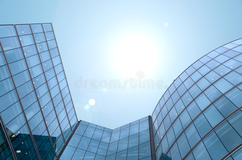 Skyscraper building royalty free stock photography