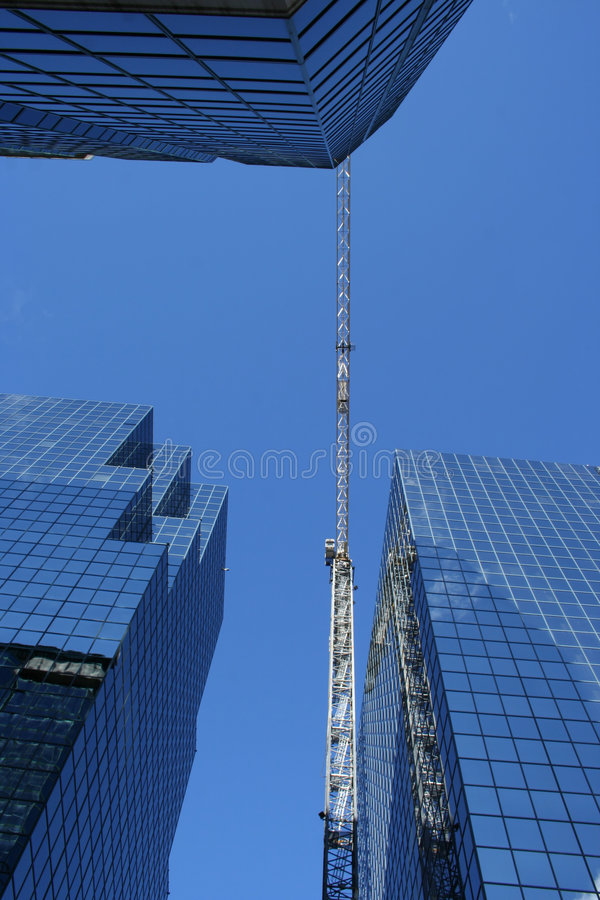 Download Skyscraper Construction Crane Stock Photo - Image: 1930686