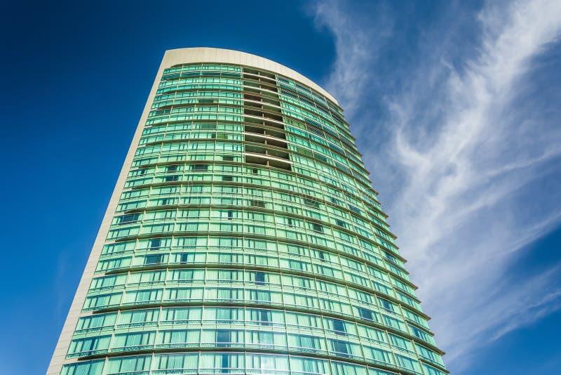 Skyscraper in the Gaslamp Quarter, San Diego, California. Skyscraper in the Gaslamp Quarter, San Diego, California stock photos