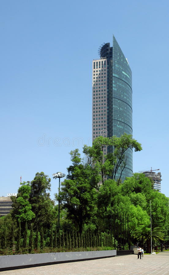 Free Skyscraper In Mexico City Royalty Free Stock Photos - 15758058