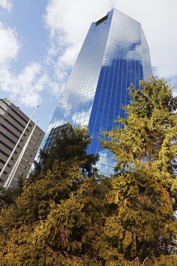 Skyscraper in Lexington royalty free stock photos