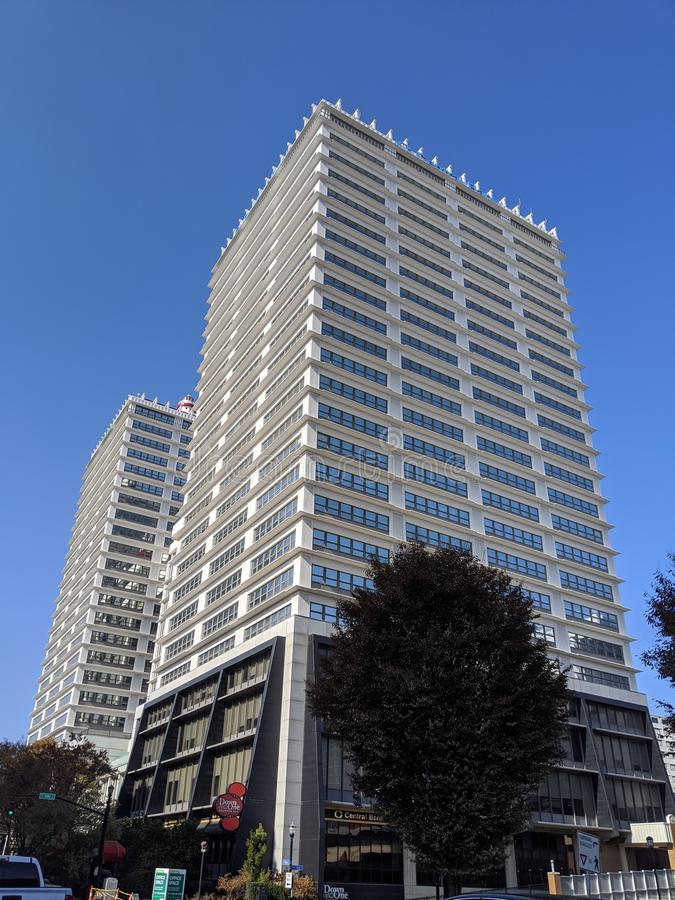 Skyscraper 400 main Louisville Kentucky стоковые фото