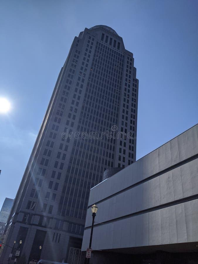 Skyscraper 400 main Louisville Kentucky стоковые изображения